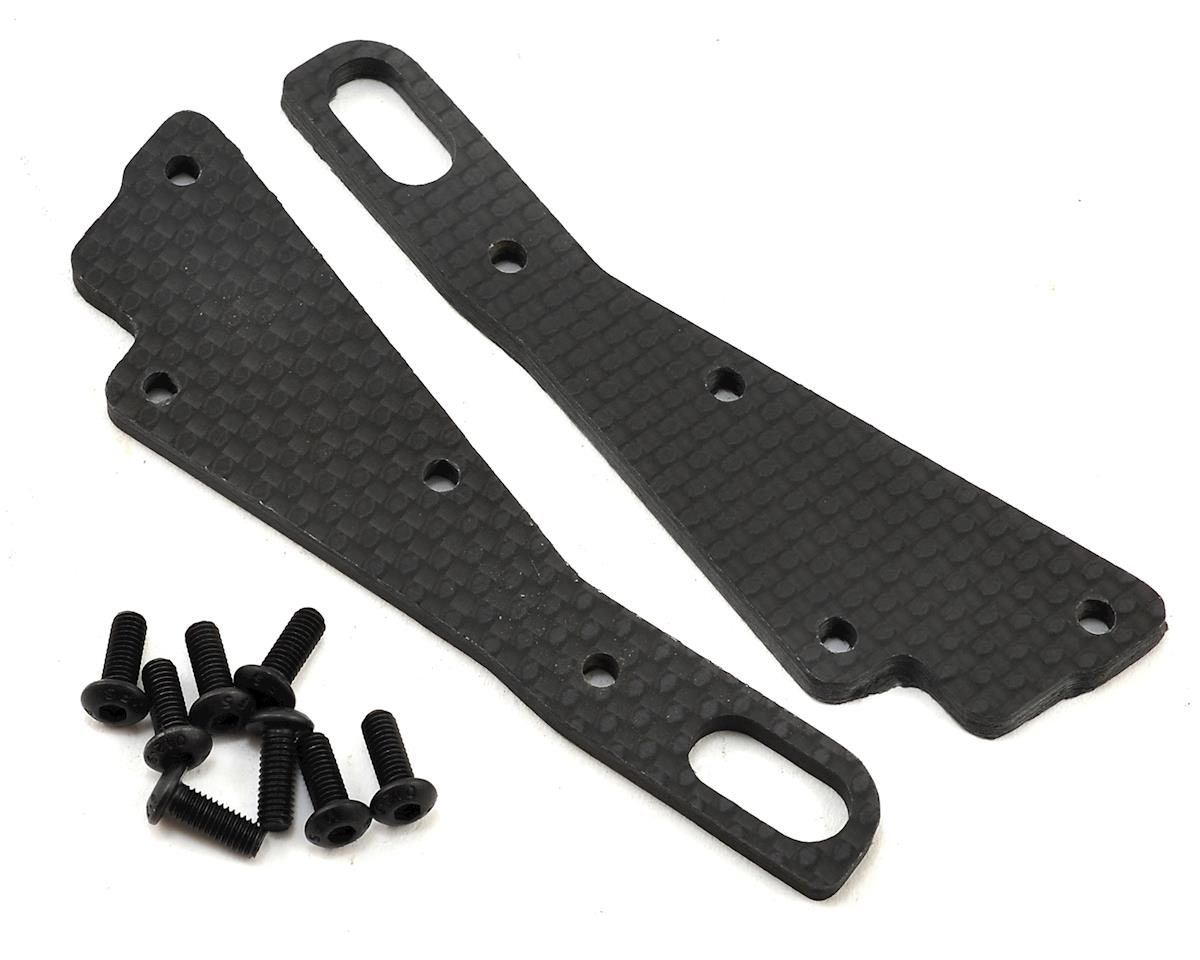 """Infinity"" XRAY XB2 Carbon Fiber Front Chassis Braces (2) by X Factory"