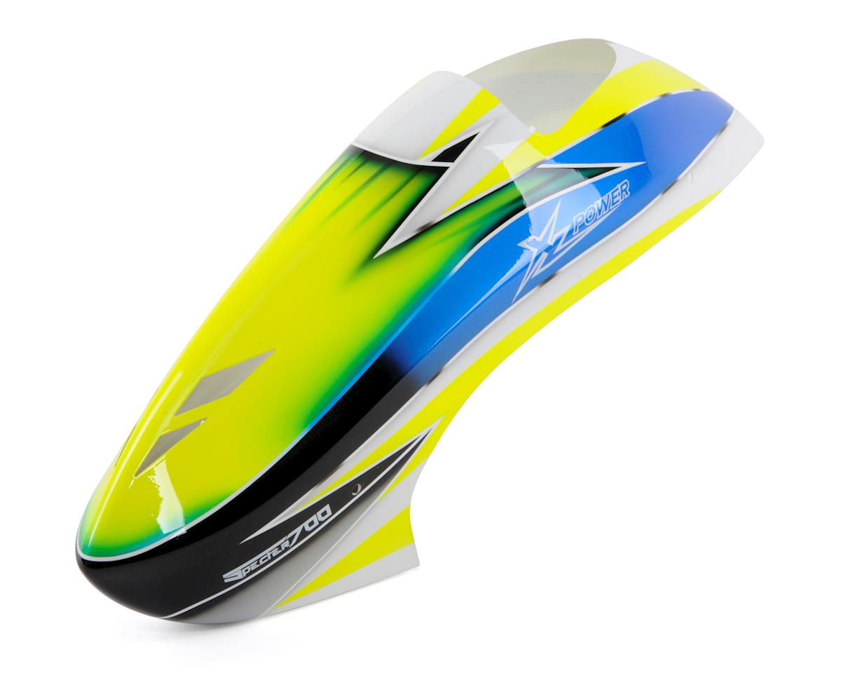 XLPower Canopy (Yellow/Blue/White)