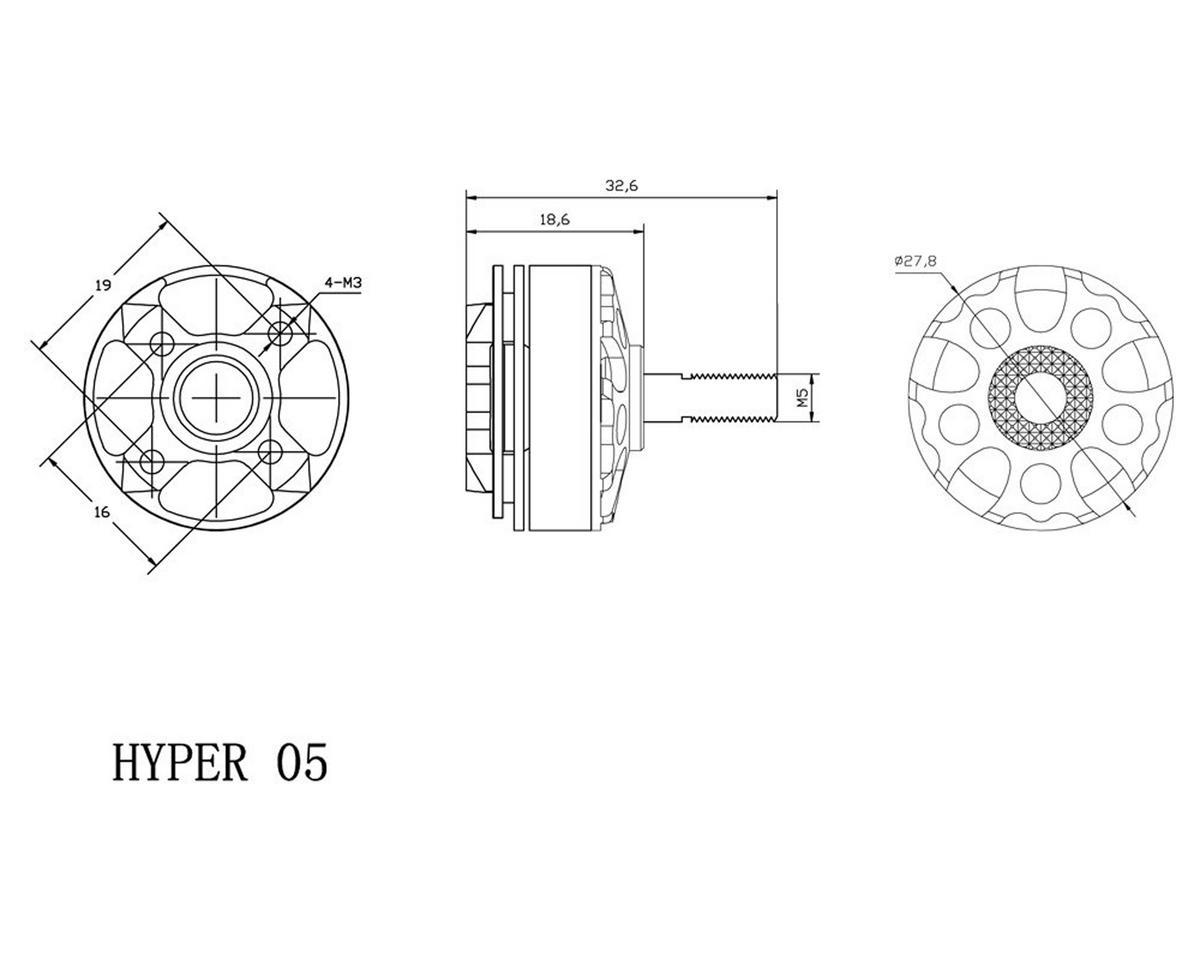 Xnova Hypersonic 2205-2600KV FPV Racing Motor (1)