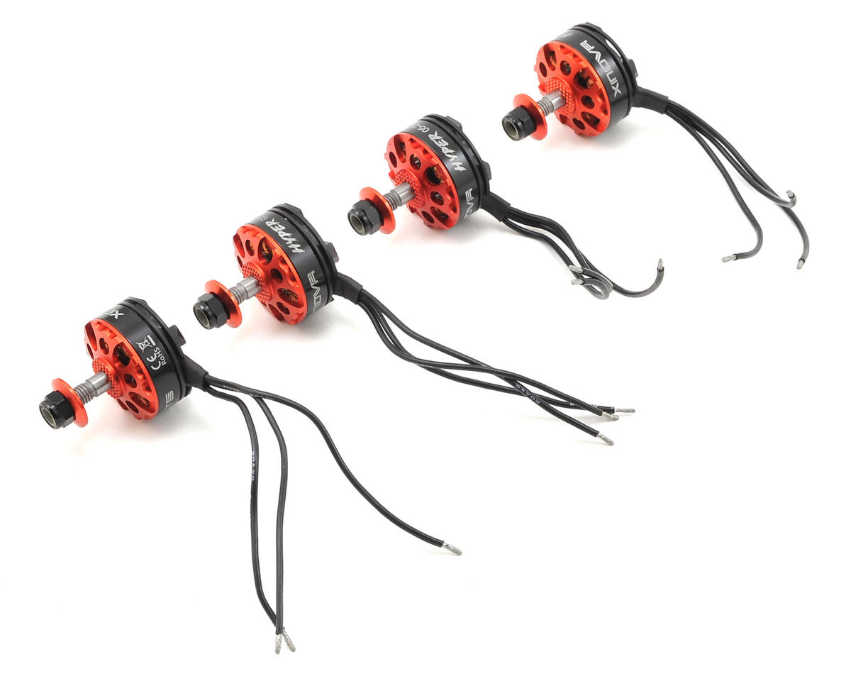 Hypersonic 2205-2600KV FPV Racing Motor Set (4) by Xnova