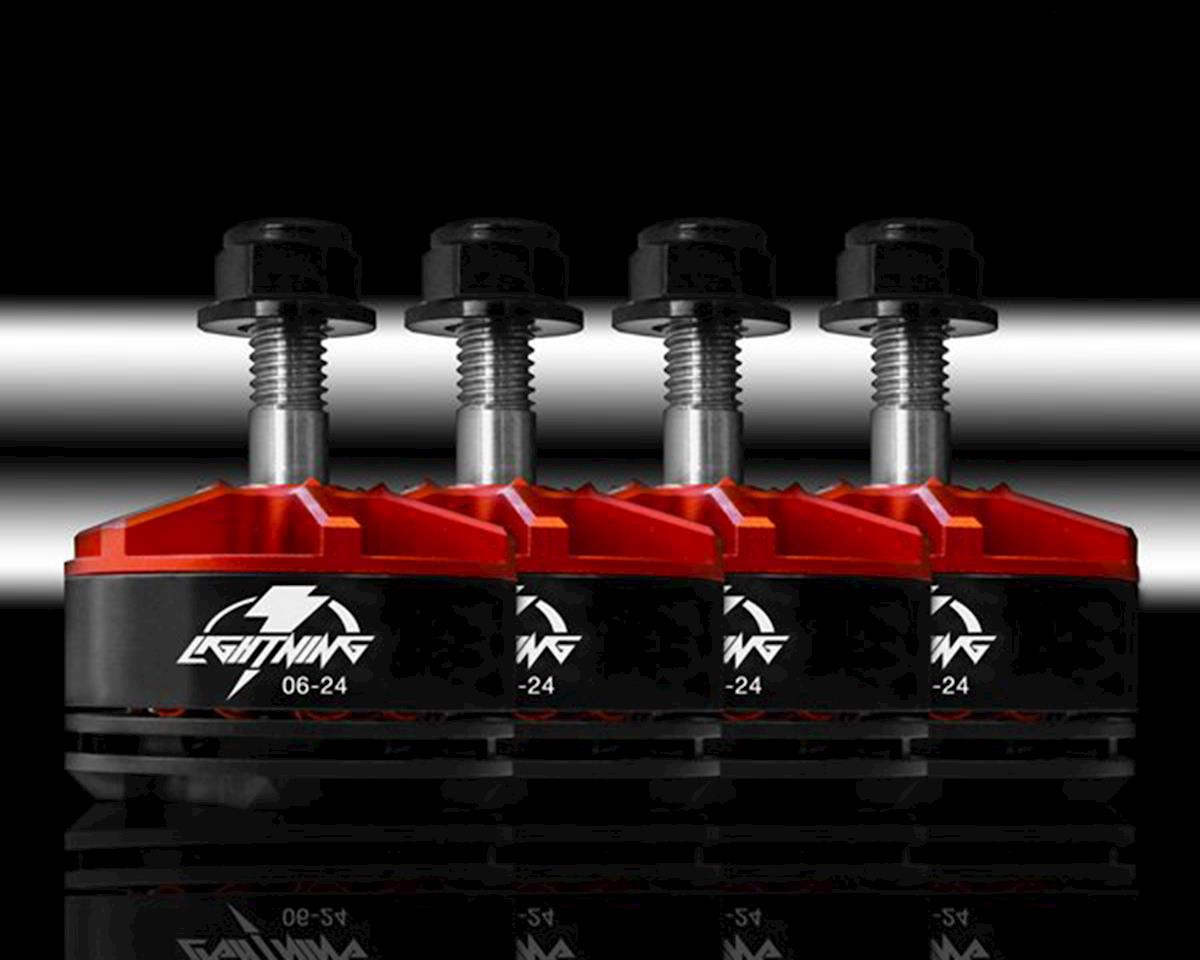 Lightning 2206-2450kV Racing Brushless Motor Set (4) by Xnova
