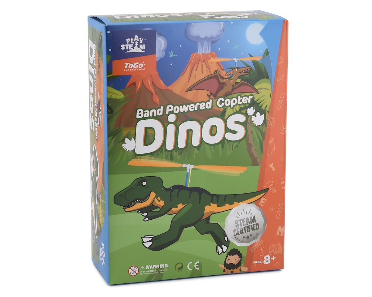 PlaySTEAM ToGo Band Powered Copter Dinos