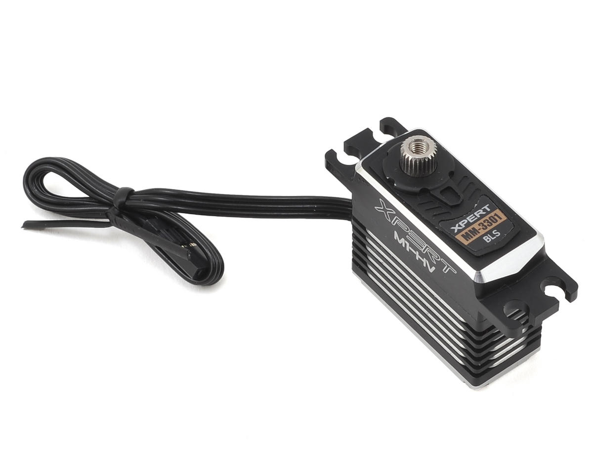 Xpert MM-3301-HV High Voltage Aluminum Case Mini Servo
