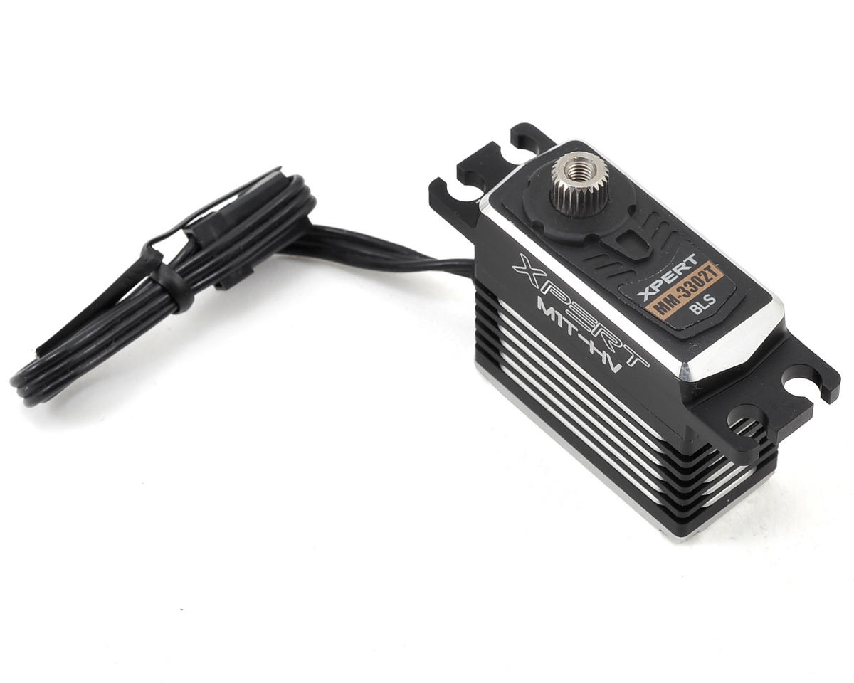 Xpert MM-3302T-HV All Aluminum Case Mini Tail Servo (High Voltage)