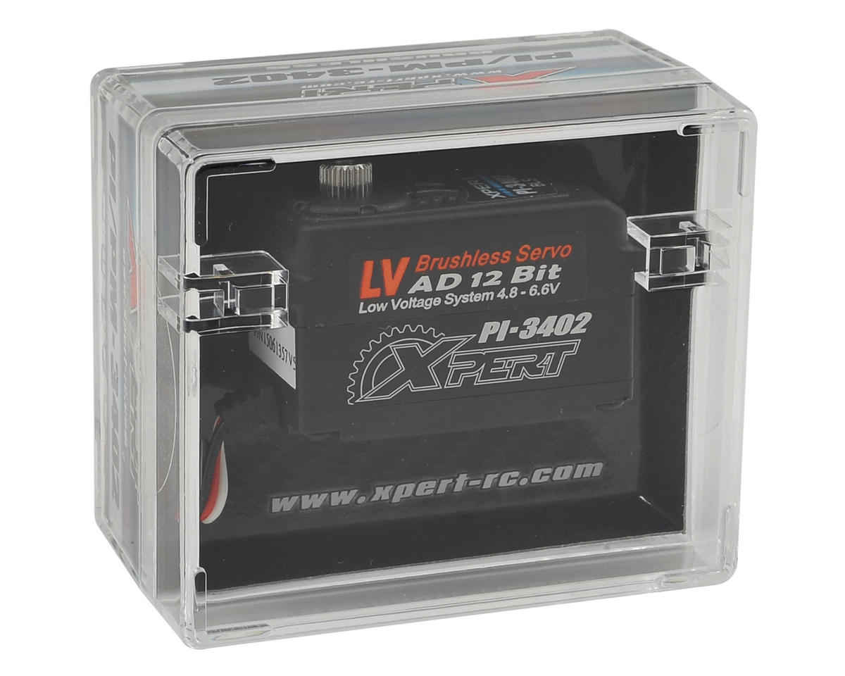 "3000 Series ""High Speed"" Low Profile Aluminum Center Case Servo by Xpert"