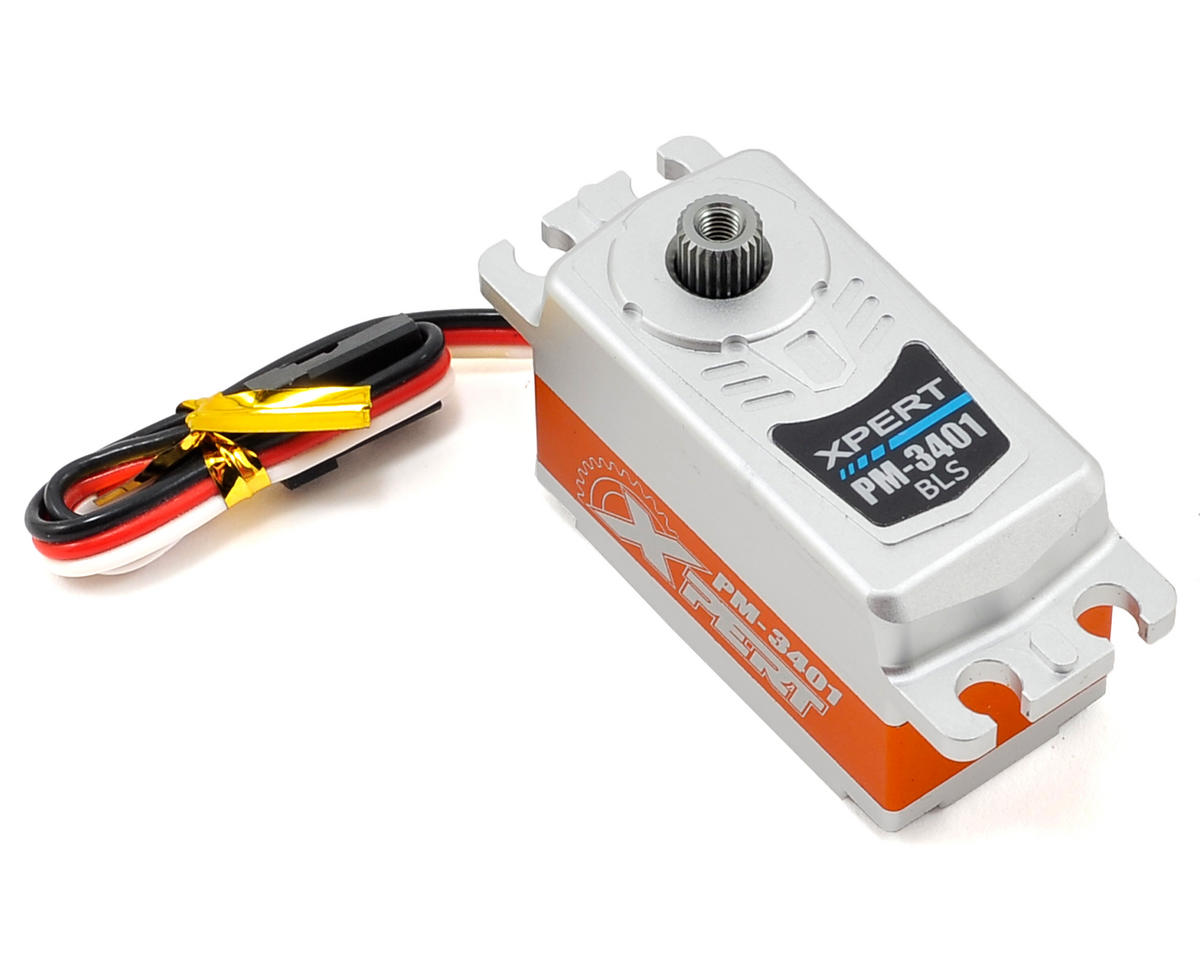 "Xpert 3000 Series ""High Speed"" Low Profile All Aluminum Case Servo"