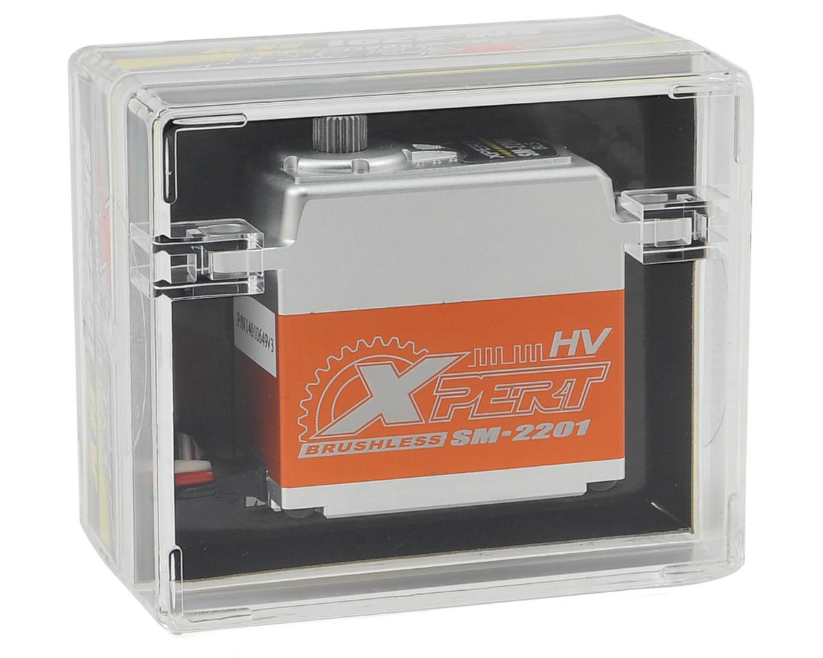 "Xpert 2000 Series ""High Speed"" High Voltage All Aluminum Case Servo"