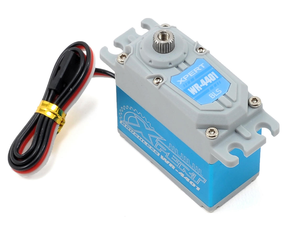 "Xpert 4000 Series ""Super Torque"" Metal Gear Waterproof Digital Brushless Servo"