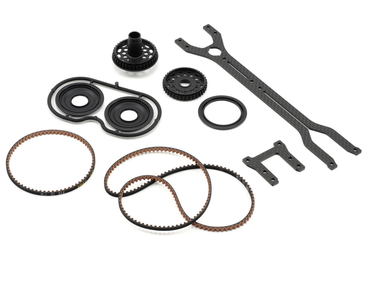 XRAY Forward Motor Position Rubber-Spec Conversion Set (T2'009)