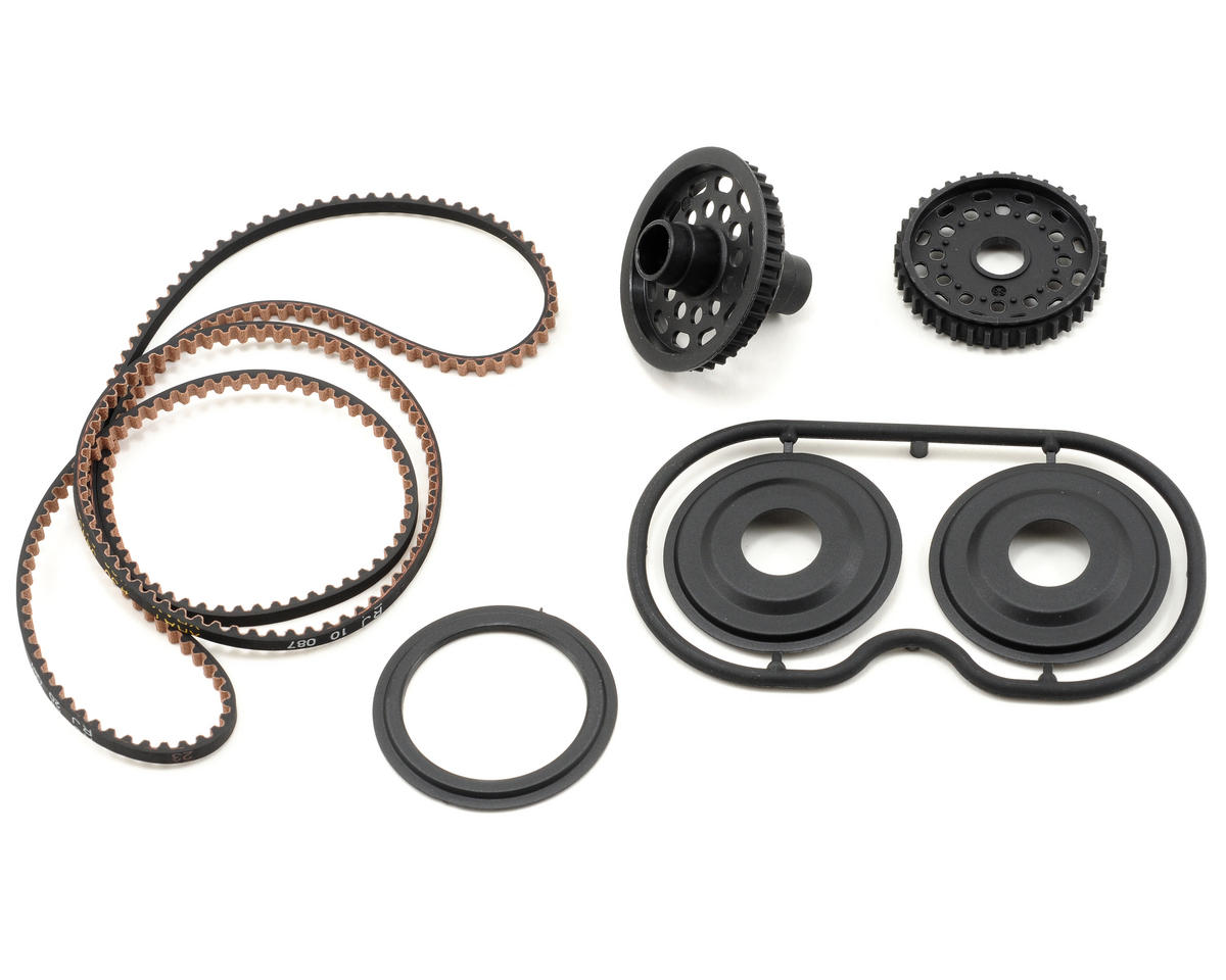 XRAY 38T Pulley Rubber-Spec Conversion Set (T2'009)