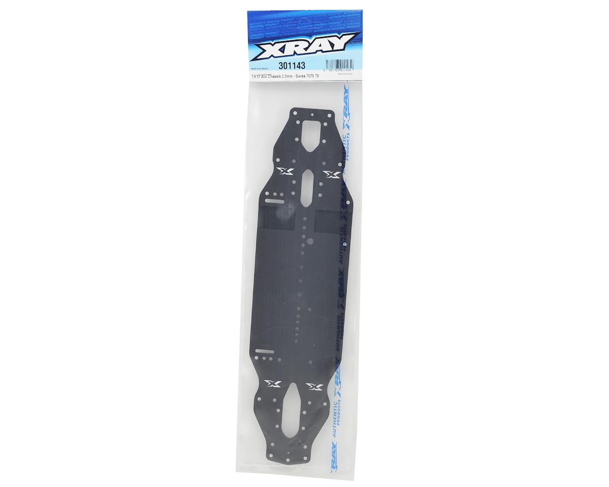 XRAY T4 2017 2.0mm Aluminum Chassis