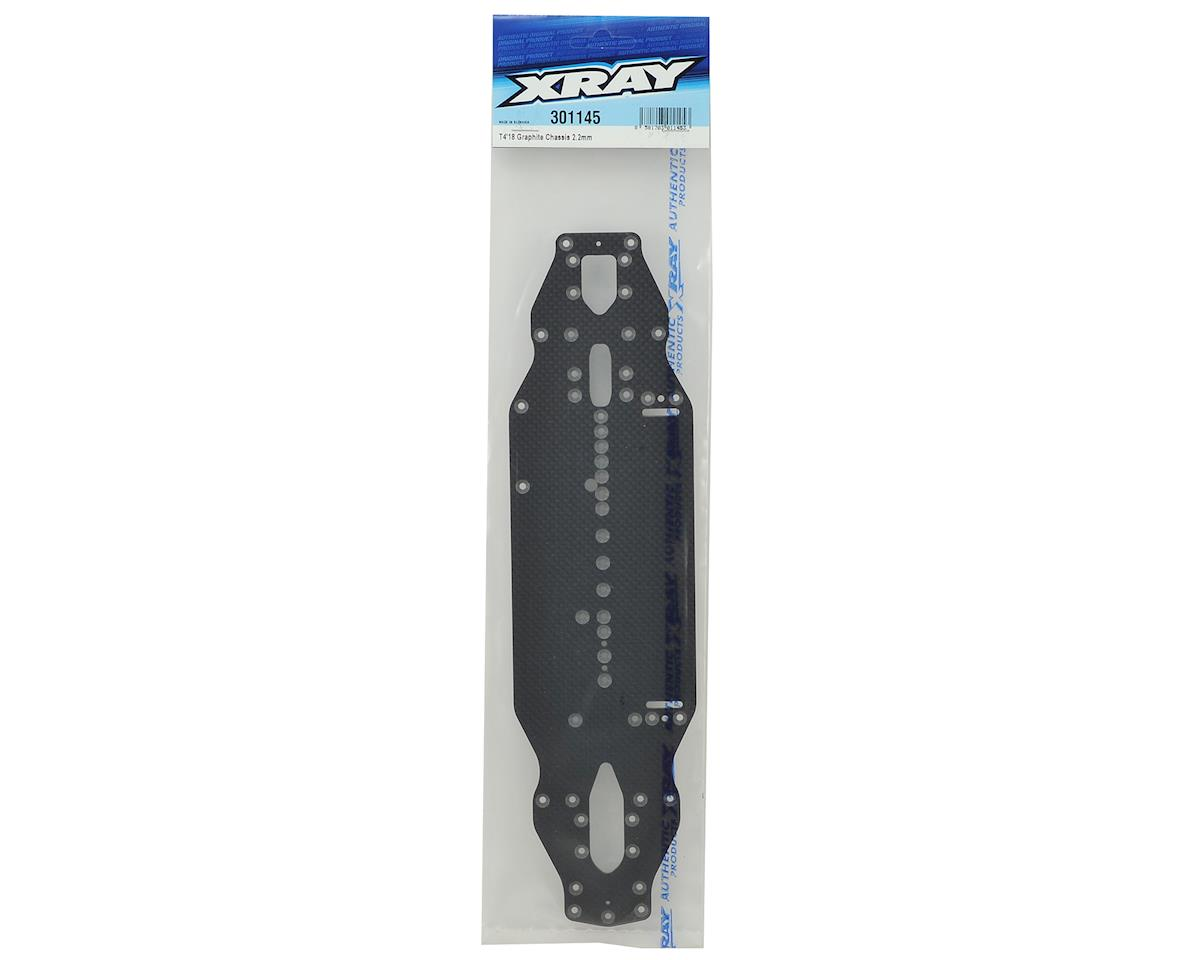 XRAY T4 2018 2.2mm Graphite Chassis