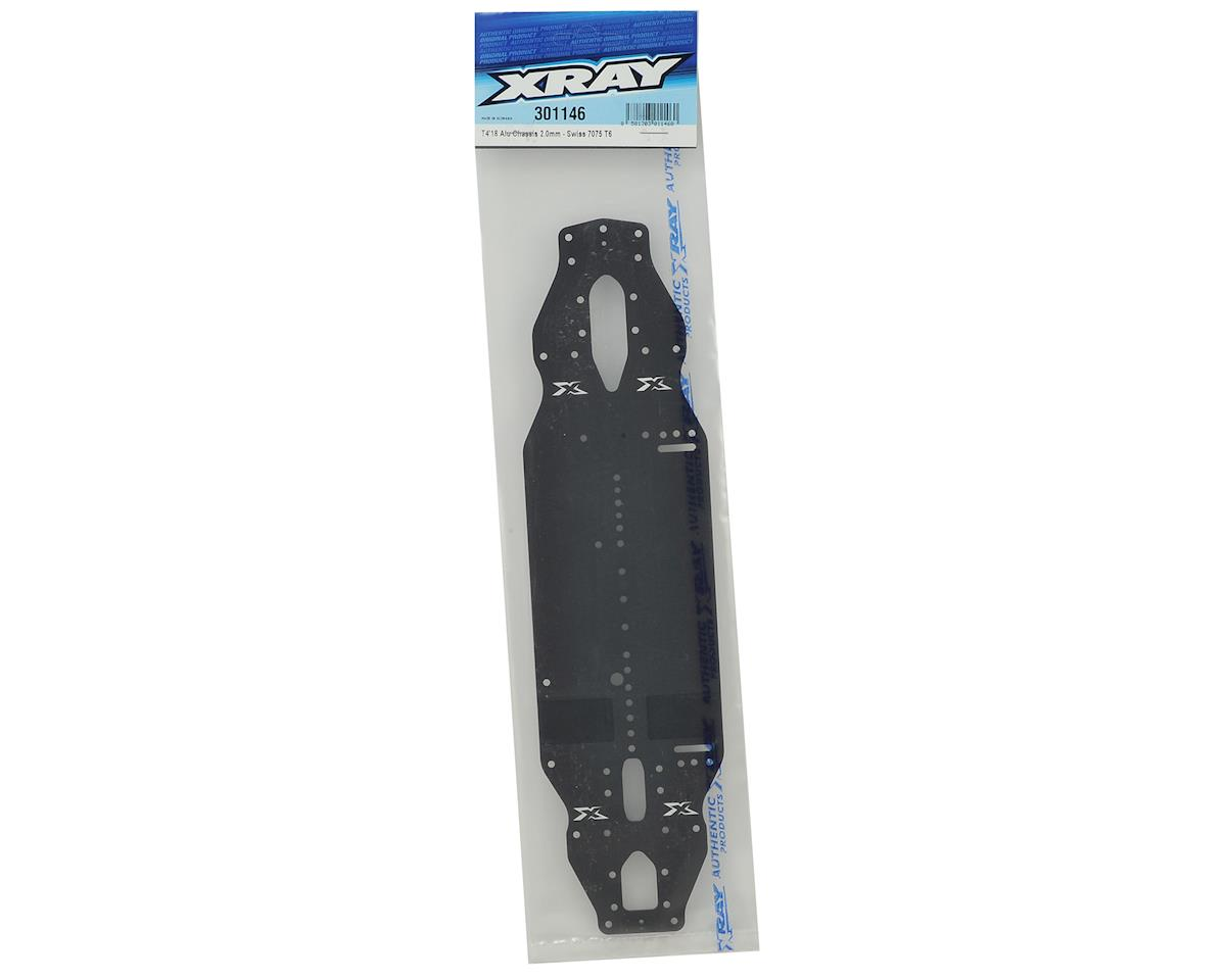 XRAY T4 2018 2.0mm Aluminum Chassis