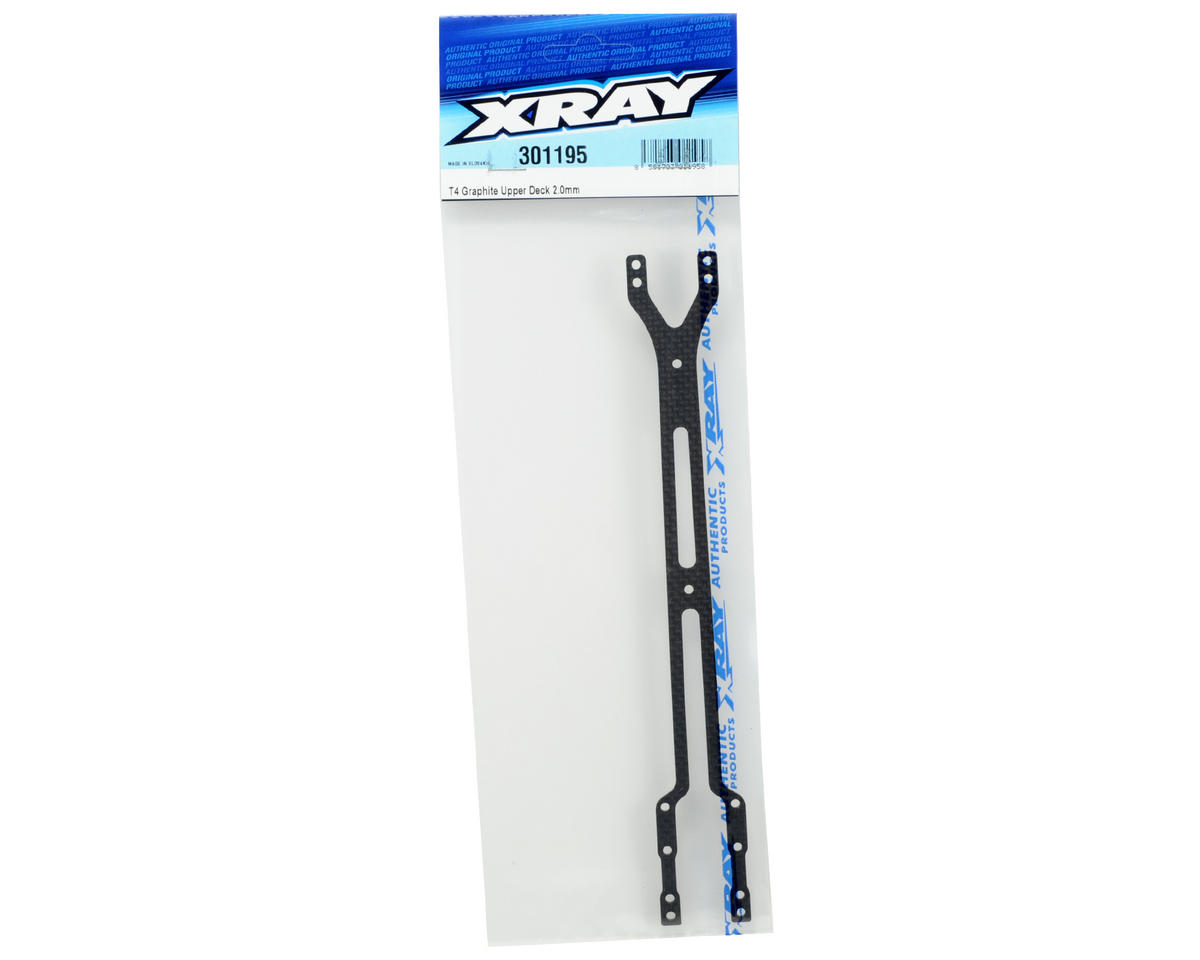 XRAY 2.0mm Graphite Upper Deck