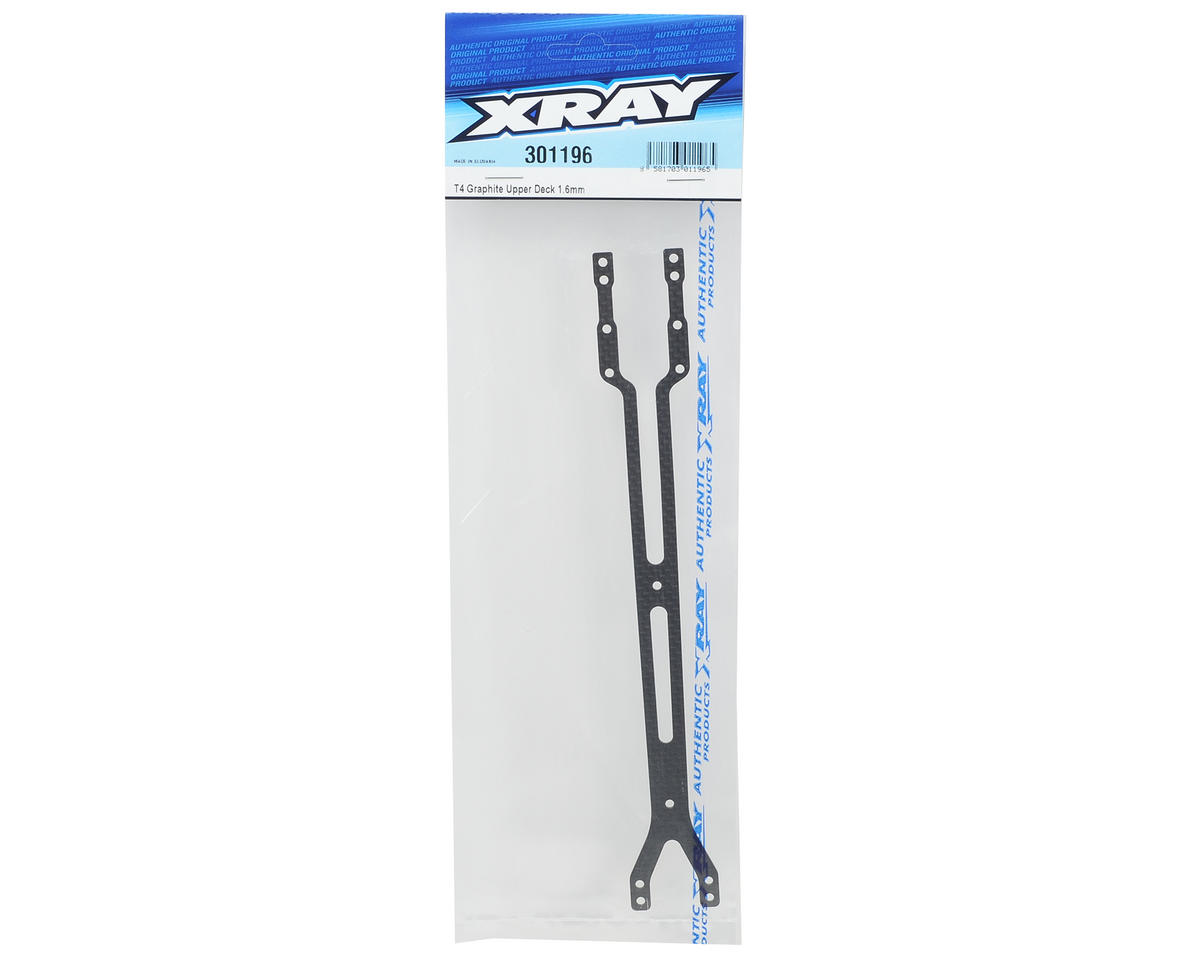 XRAY 1.6mm Graphite Upper Deck