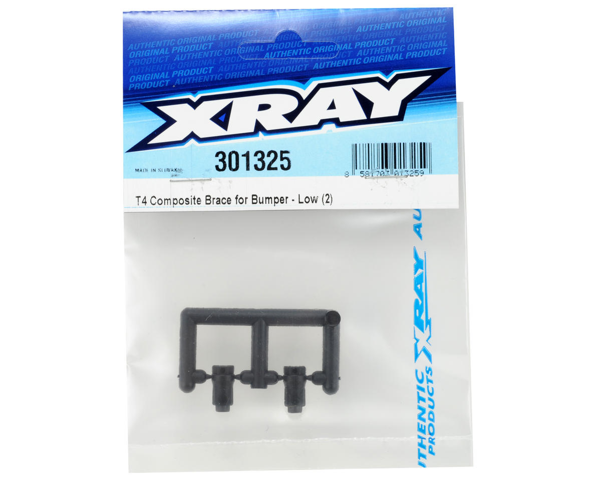 XRAY Composite Bumper Lower Brace Set (2)
