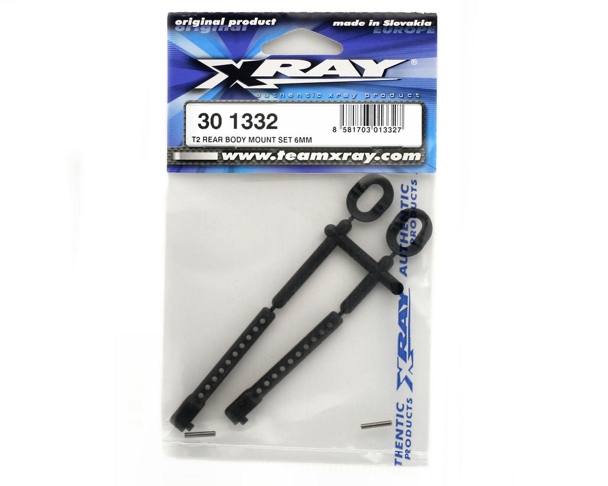 XRAY Rear Body Mount Set (6mm)