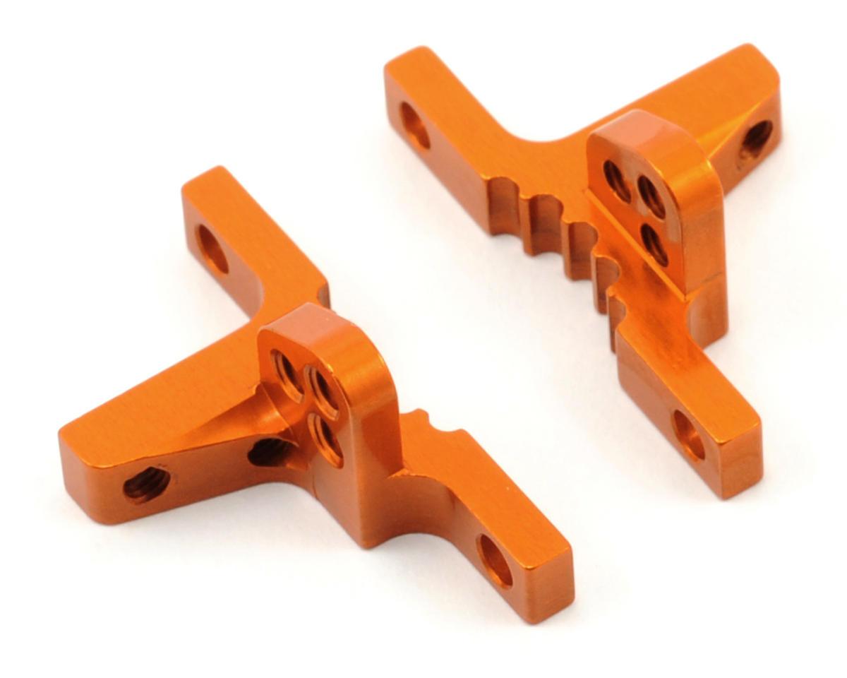 XRAY Aluminum Upper Clamp Set (Orange) (2)