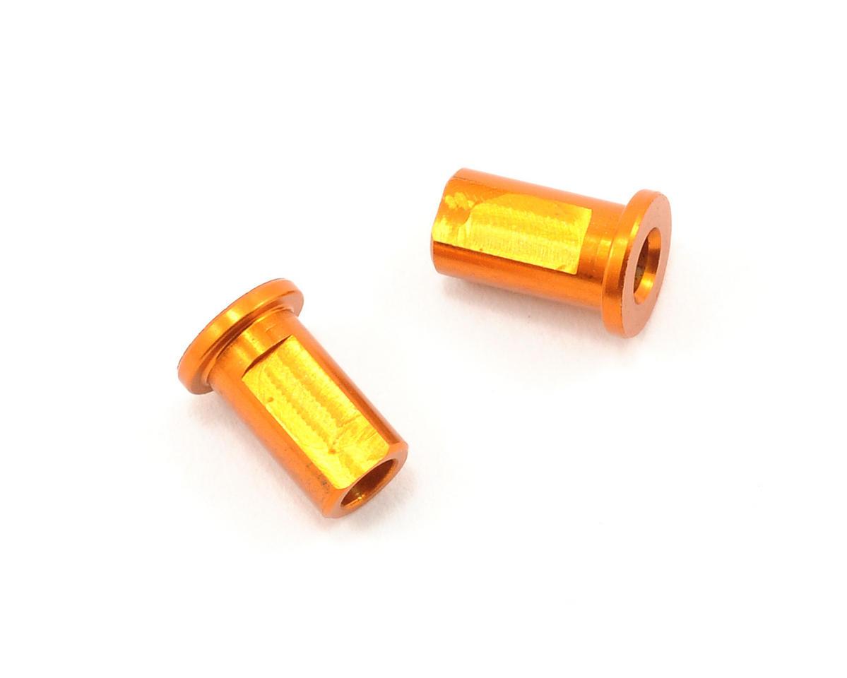 XRAY Aluminum Suspension Holder Nut (Orange) (2) (T2)
