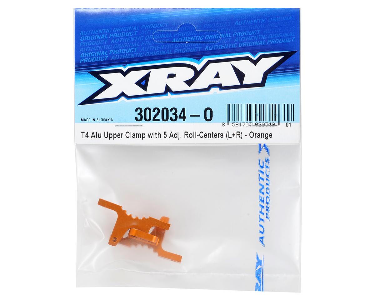 XRAY Aluminum Upper Clamp Set (Orange)