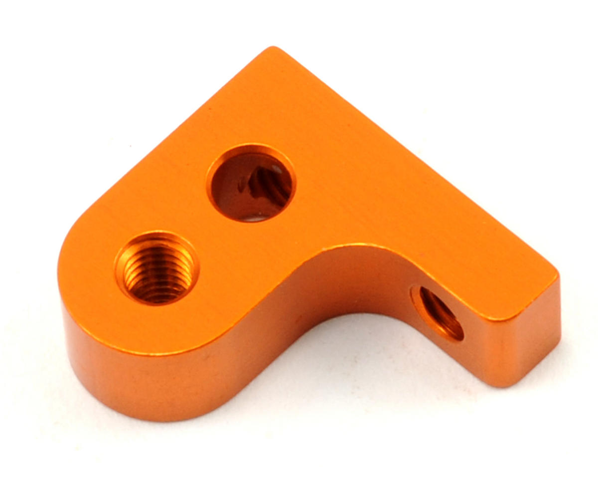 XRAY Aluminum Lower Suspension Holder (Orange)