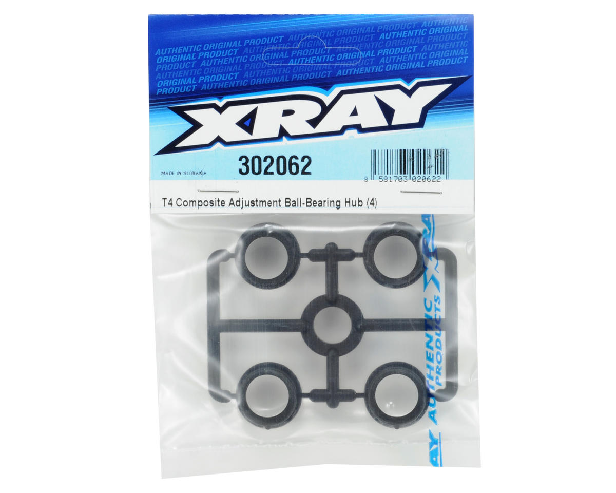 XRAY Composite Ball-Bearing Hub Set (4)
