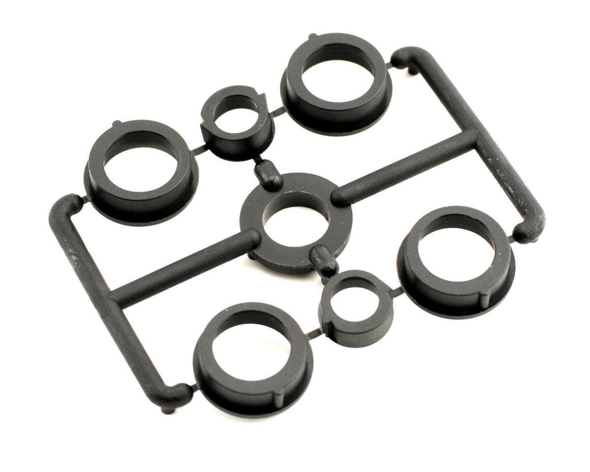 XRAY T2'007 Composite Hubs For Bulkhead (4+2)