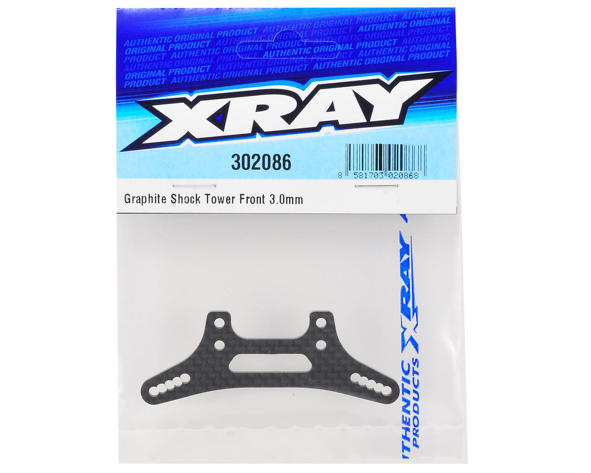 XRAY 3.0mm Graphite Front Shock Tower (T3'12)