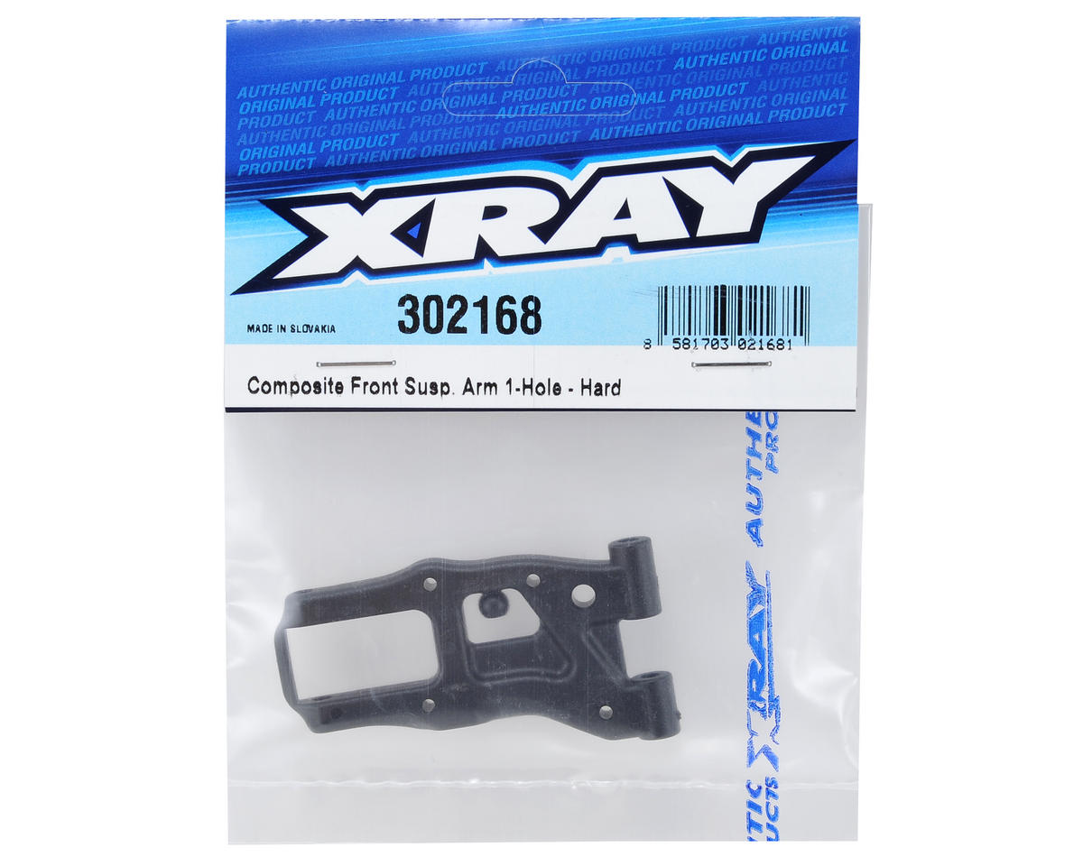XRAY T4 Hard 1-Hole Front Suspension Arm