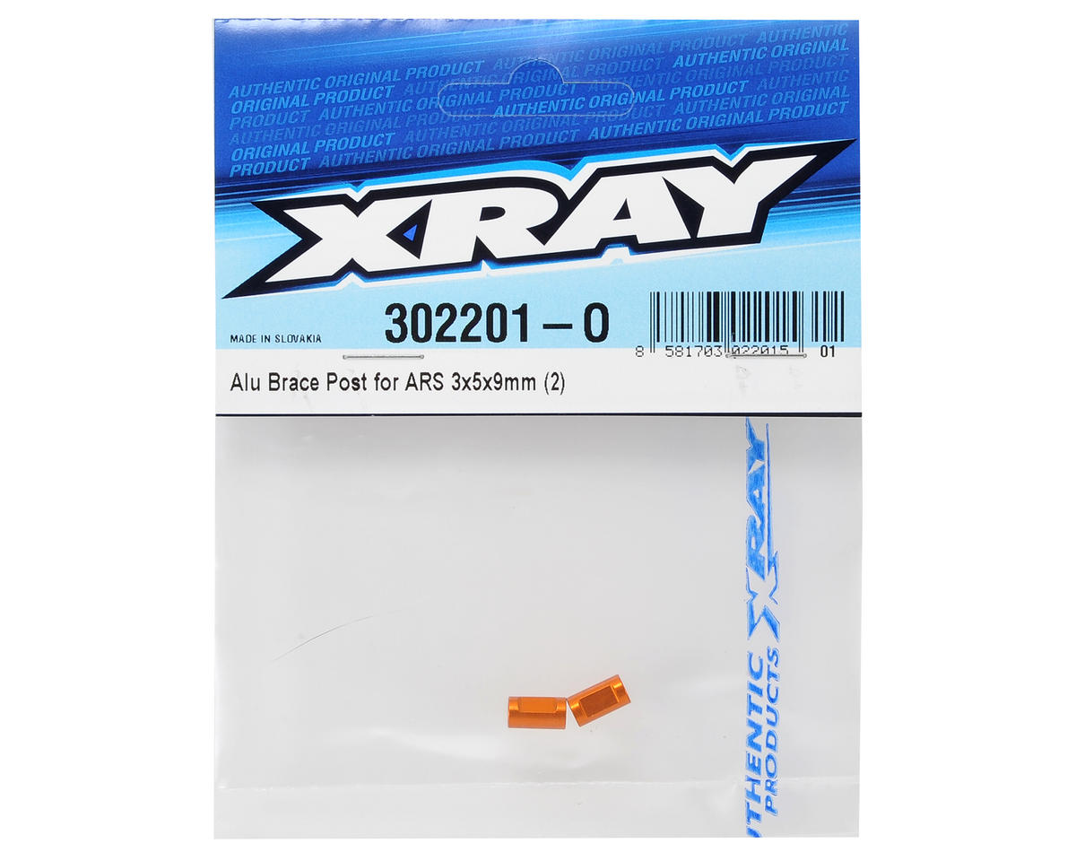 XRAY 3x5x9mm Aluminum ARS Brace Post (2)