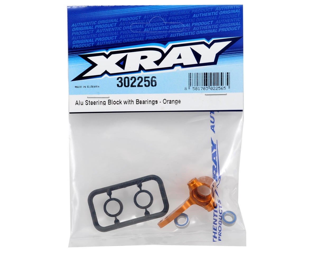 XRAY Aluminum Steering Block w/Bearings