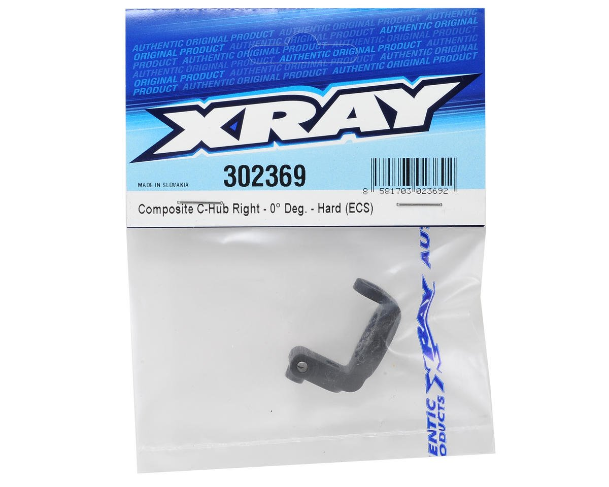 XRAY ECS Composite Hard Rubber-Spec C-Hub (Right 0°)
