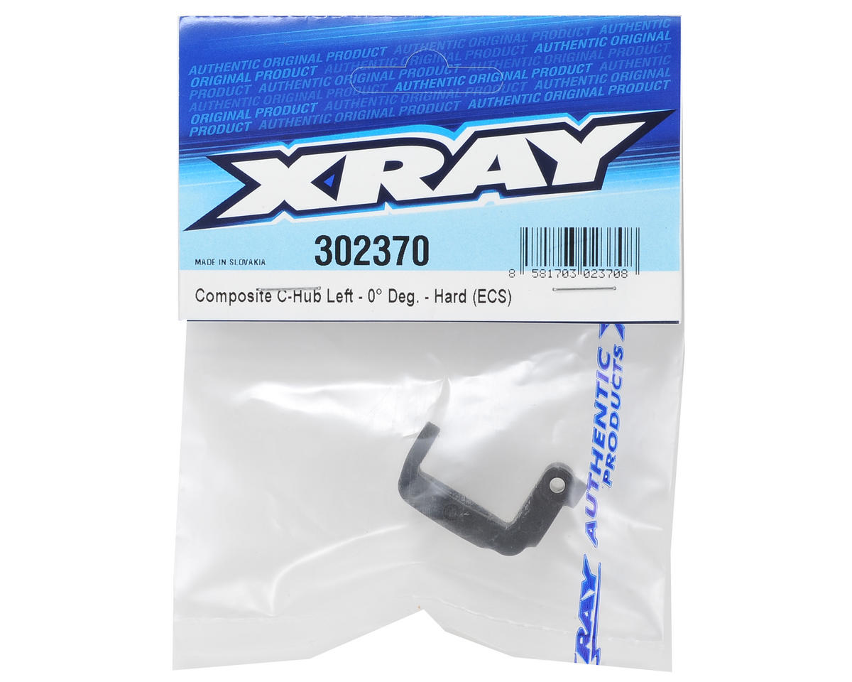 XRAY ECS Composite Hard Rubber-Spec C-Hub (Left 0°)