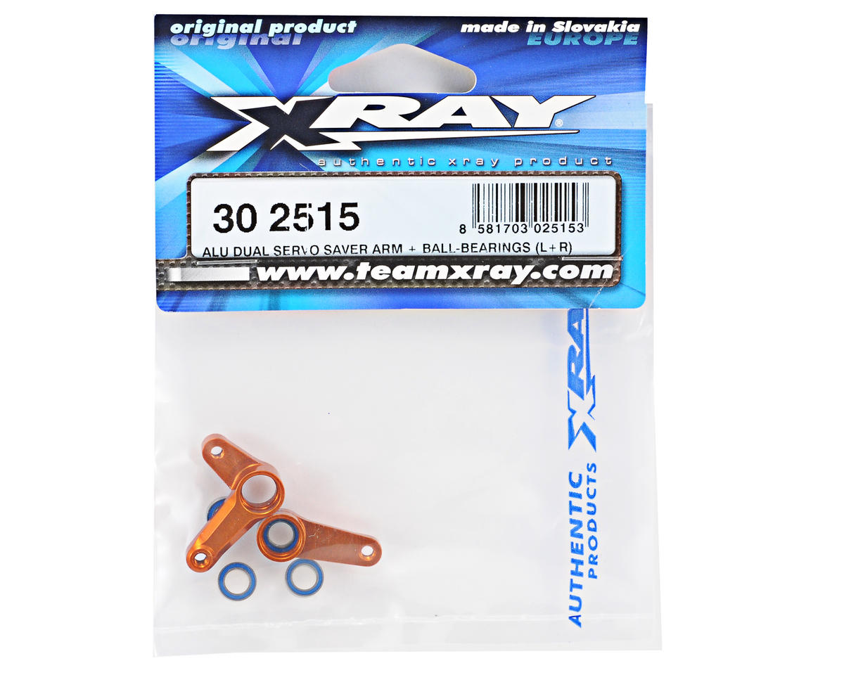 XRAY CNC Aluminum Dual Servo Saver Arm Set (2011 Spec)