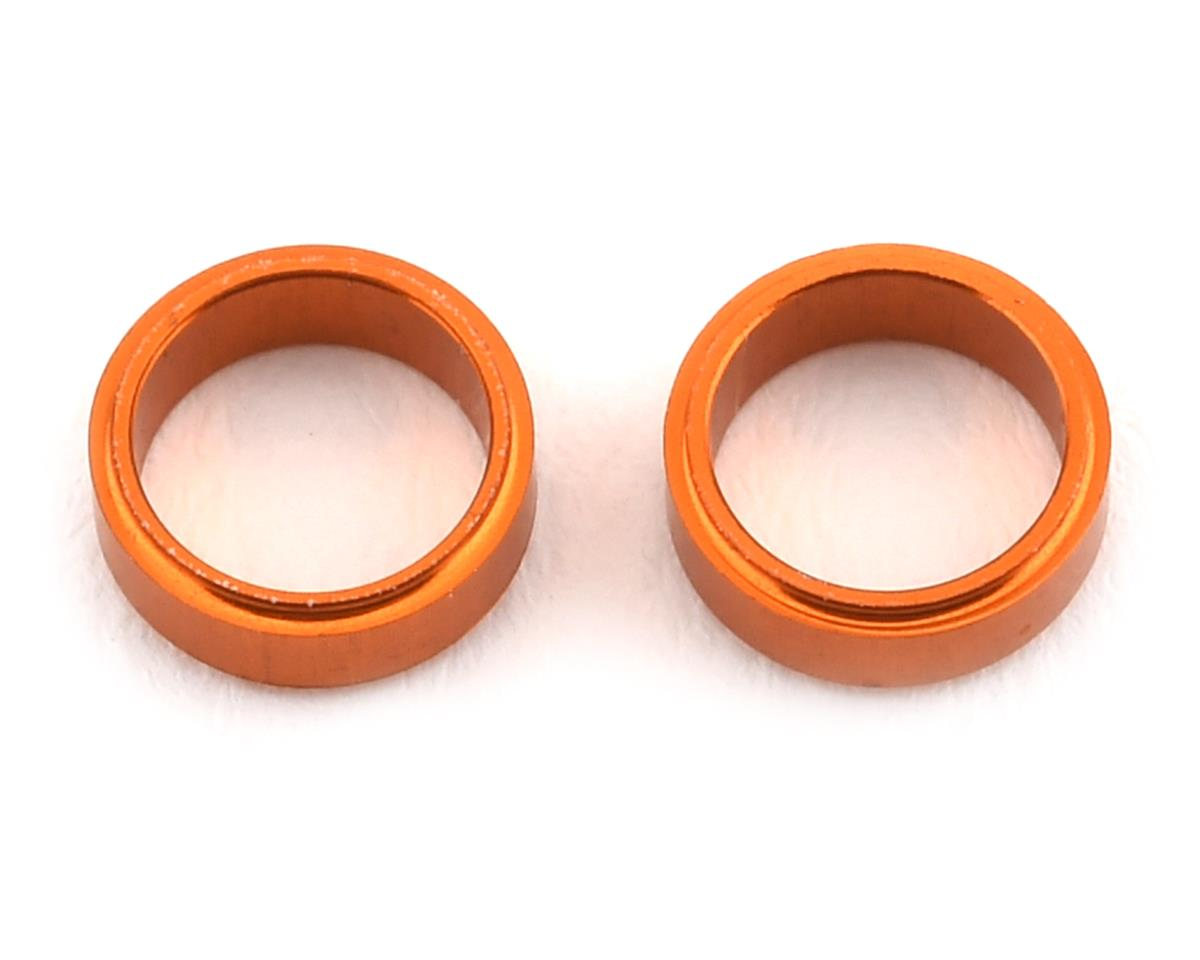 XRAY Aluminum Radial Play Shim (Orange) (2)