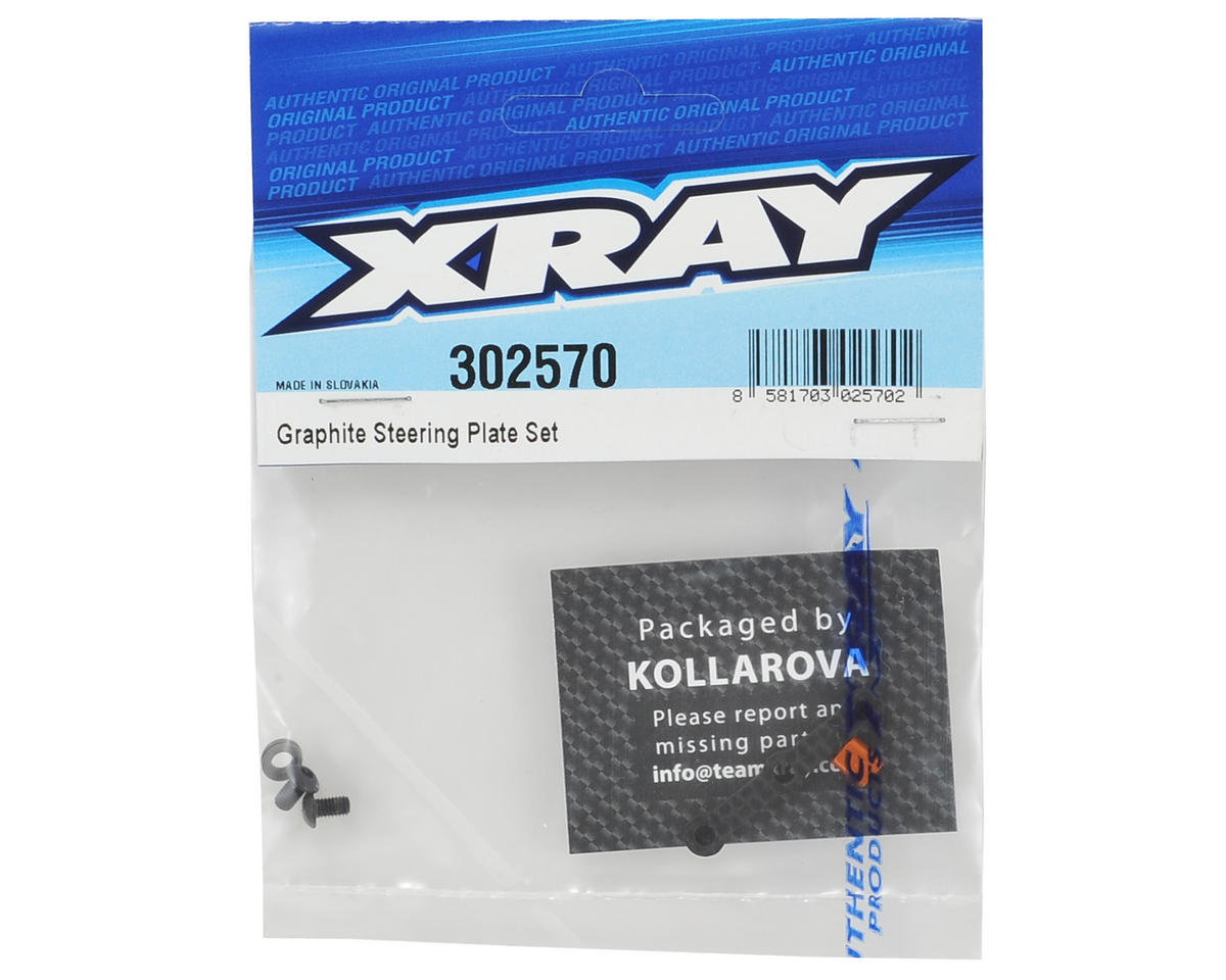 XRAY Graphite Steering Plate Set