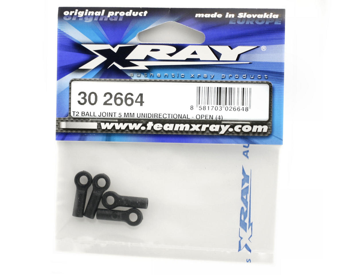 T2 Ball Joint 5mm Unidirectional - Open (4) by XRAY