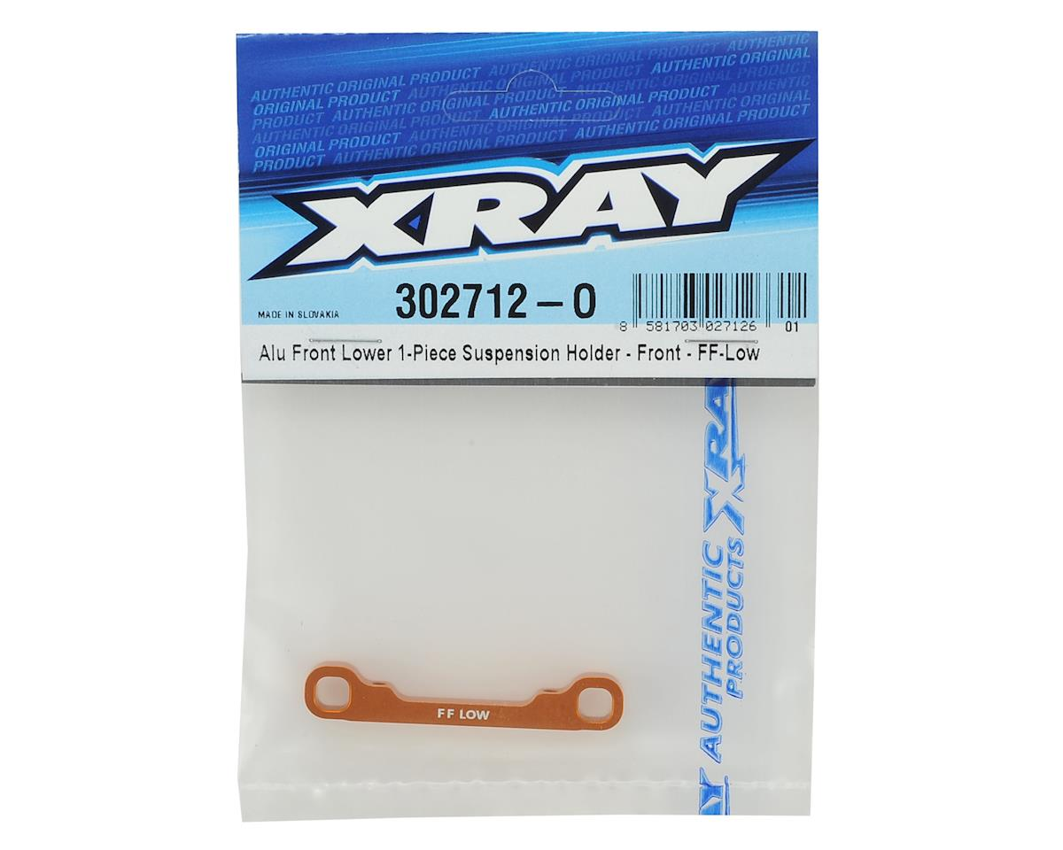 XRAY Aluminum Front/Front Low 1-Piece Suspension Holder