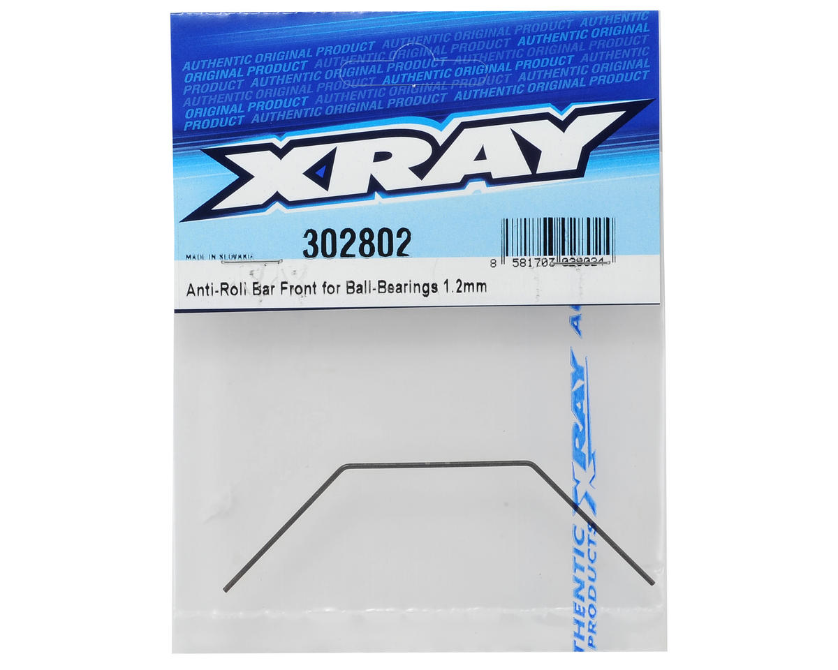 XRAY 1.2mm Bearing Supported Front Anti-Roll Bar