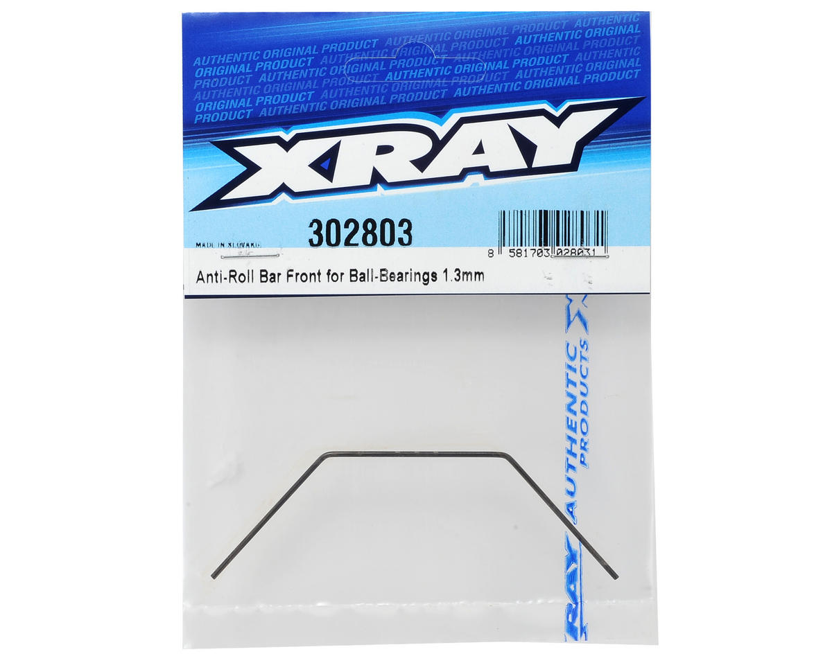 XRAY 1.3mm Bearing Supported Front Anti-Roll Bar