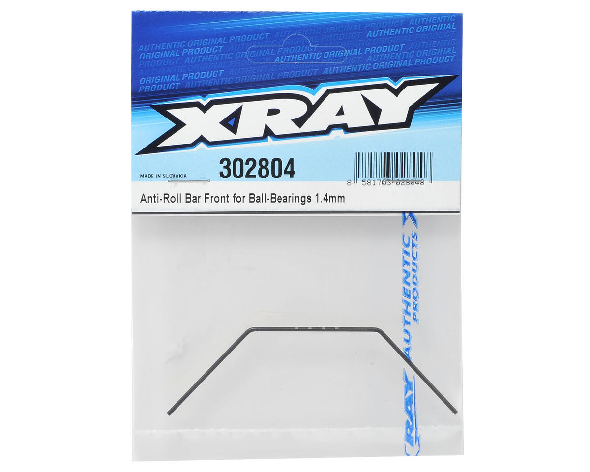 XRAY 1.4mm Bearing Supported Front Anti-Roll Bar