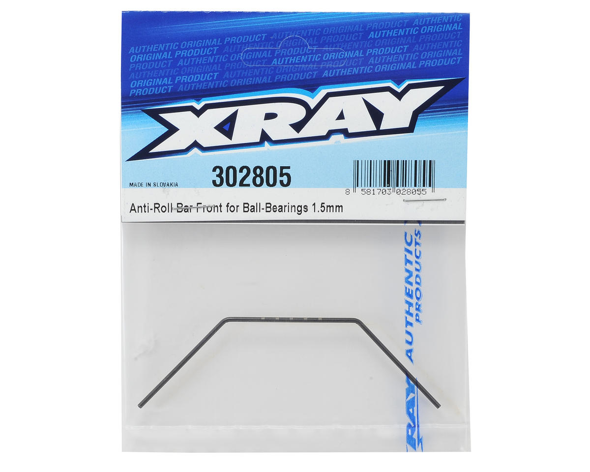 XRAY 1.5mm Bearing Supported Front Anti-Roll Bar