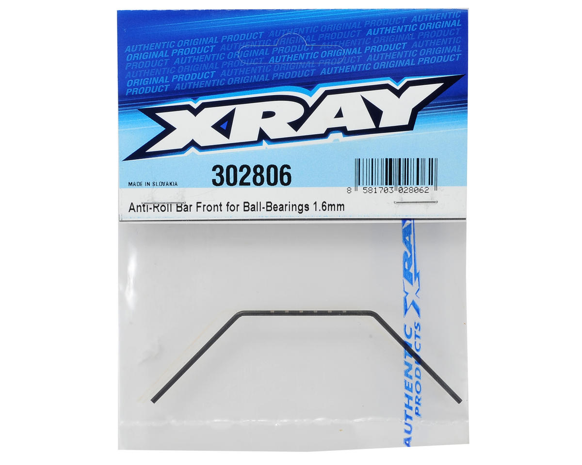 XRAY 1.6mm Bearing Supported Front Anti-Roll Bar