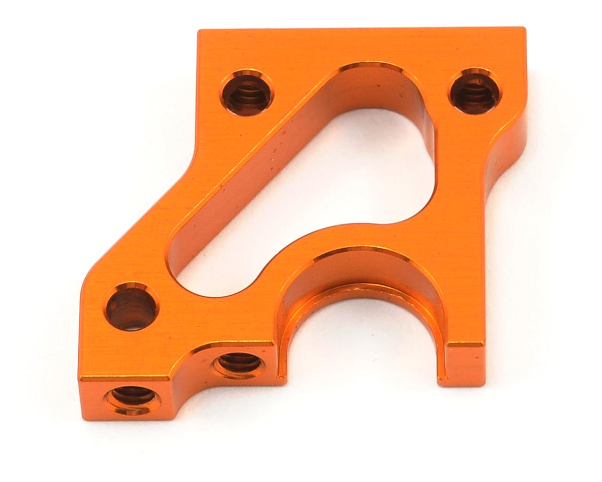 Aluminum Right Side Layshaft Bulkhead (Orange) by XRAY