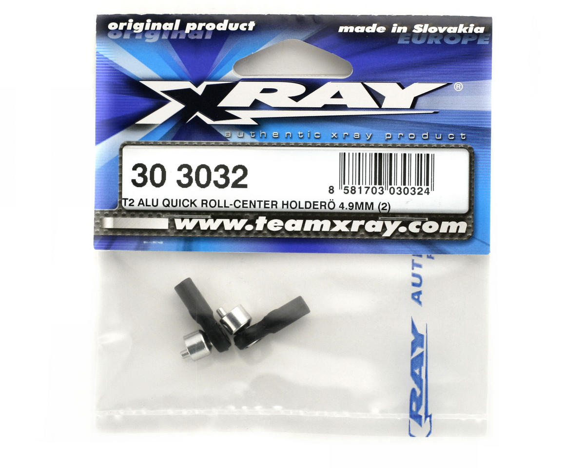 XRAY T2 Aluminum Quick Roll-Center Holder 4.9mm (2)