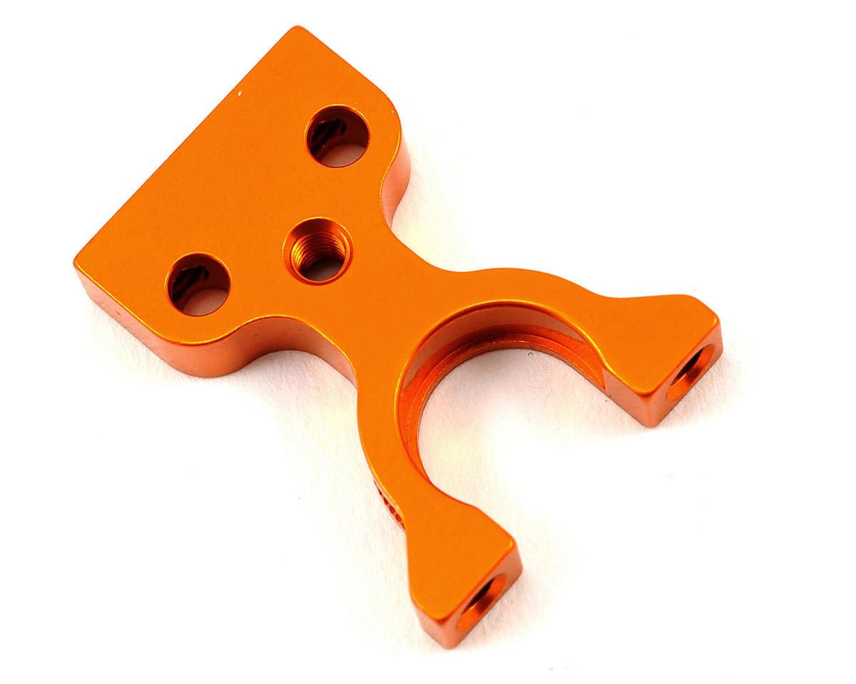 XRAY Aluminum Layshaft Closed Bulkhead L/R (Orange)
