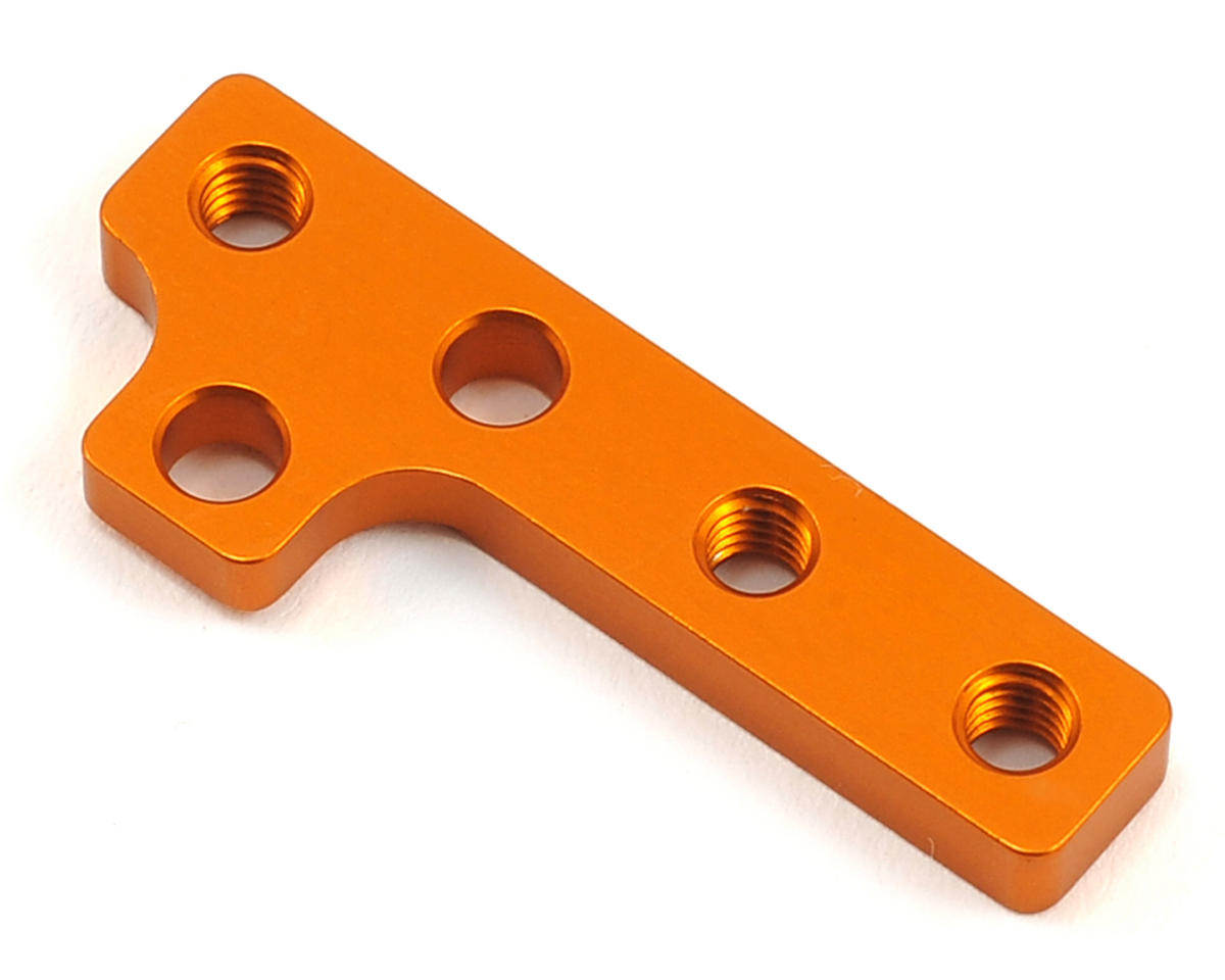 T4 2016 Aluminum Motor Mount Plate (Orange) by XRAY