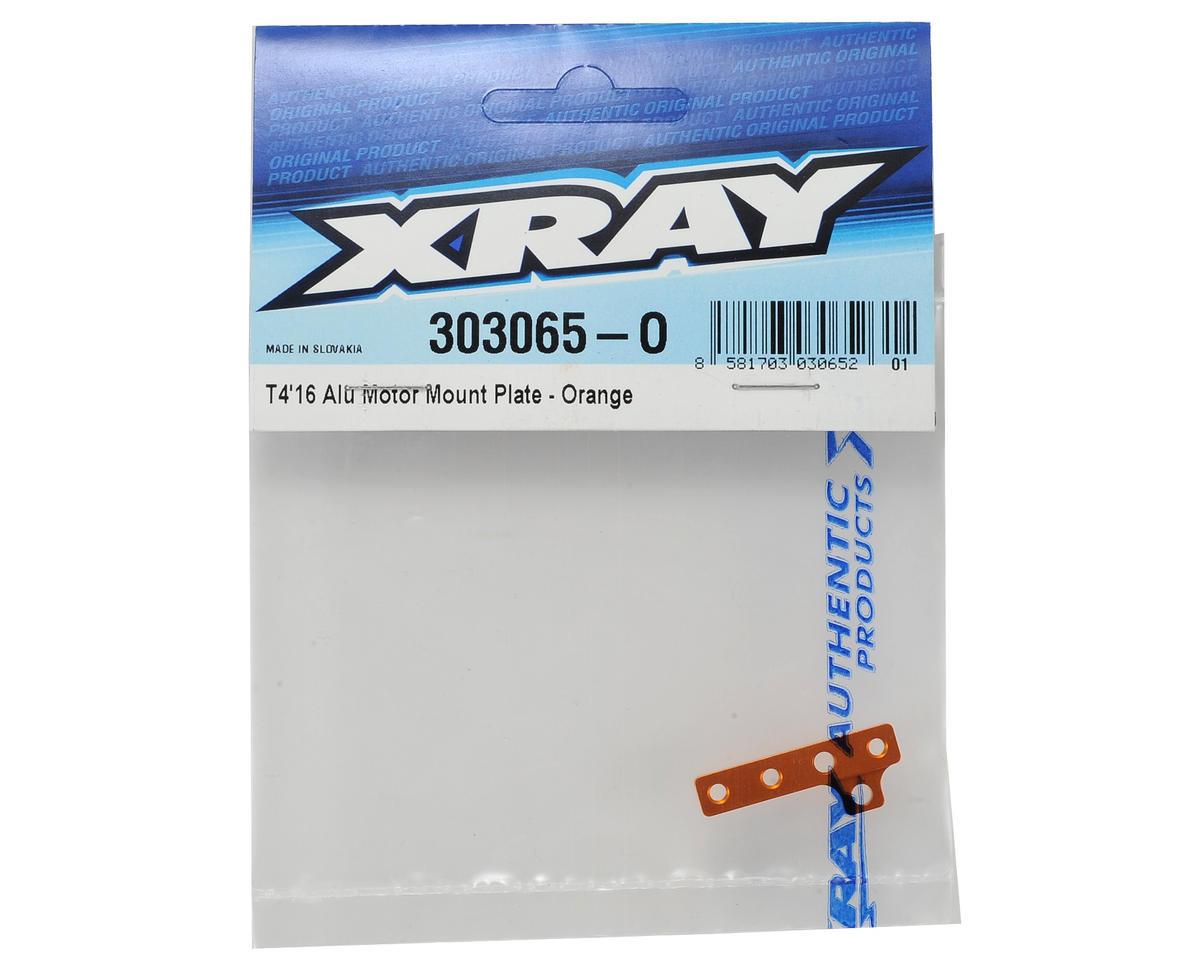 XRAY T4 2016 Aluminum Motor Mount Plate (Orange)