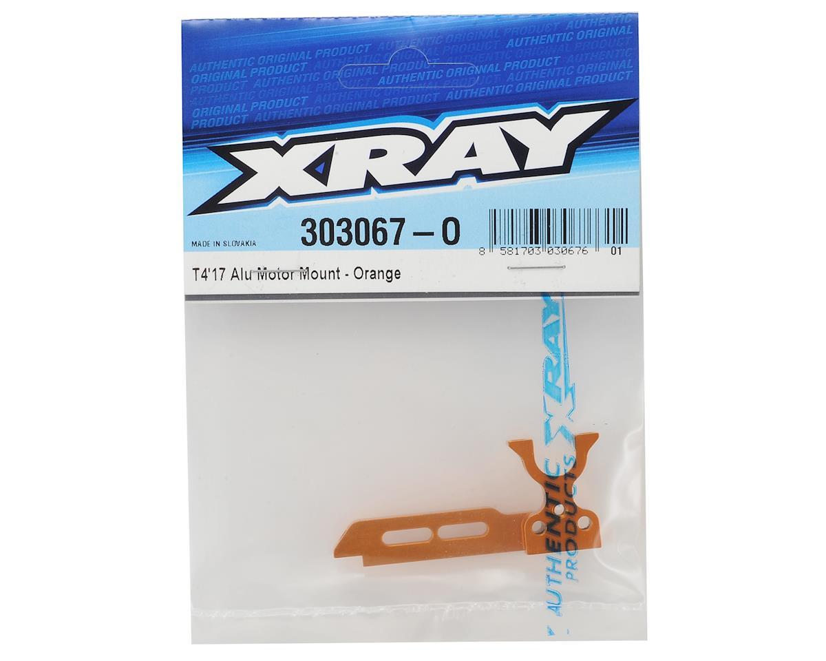 XRAY T4 2017 Aluminum Motor Mount (Orange)