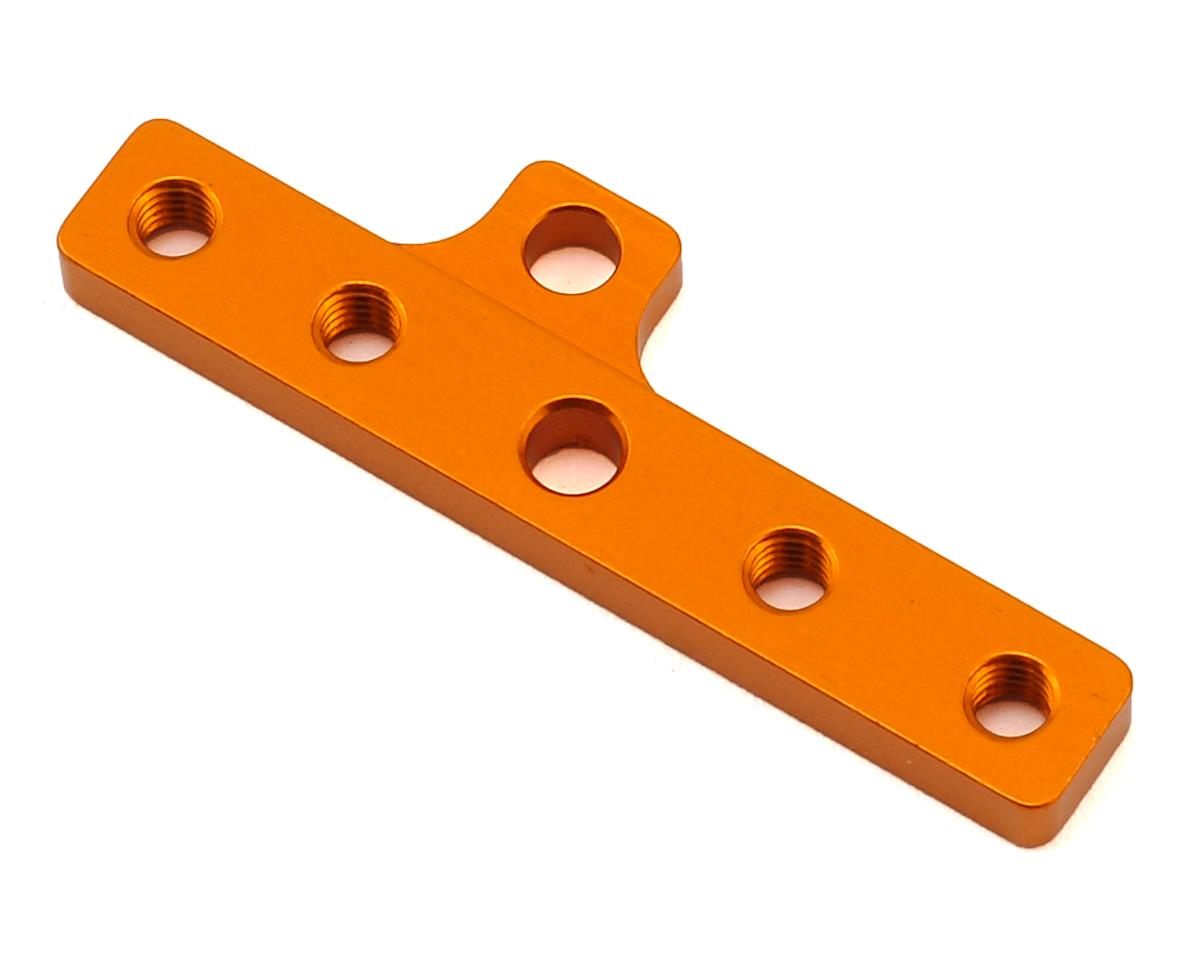 T4 2017 Aluminum Motor Mount Plate (Orange) by XRAY